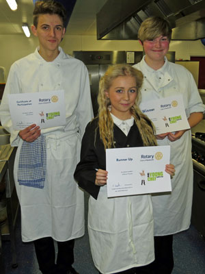 Rotary Young Chef 2013 Winners