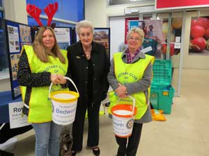 Tesco Collection December 2015 - Chris, Jean and Lorraine